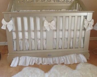 martini collection silk crib bedding set crib bedding nursery nursery bedding