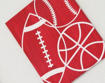 Sports Theme Bedroom Decor, Infant Nursery Decor, Baby Room Decor, Newborn Bedding, Football Decor, Baseball Decor, Basketball Decor, Boy
