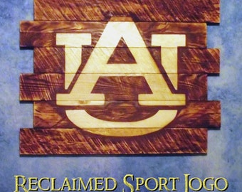 Auburn University, FREE UV protector,30x23, Burnt wall hanging, Shou Sugi Ban, Charred wood, Sports, Man cave, Rustic, Wood Sports sign