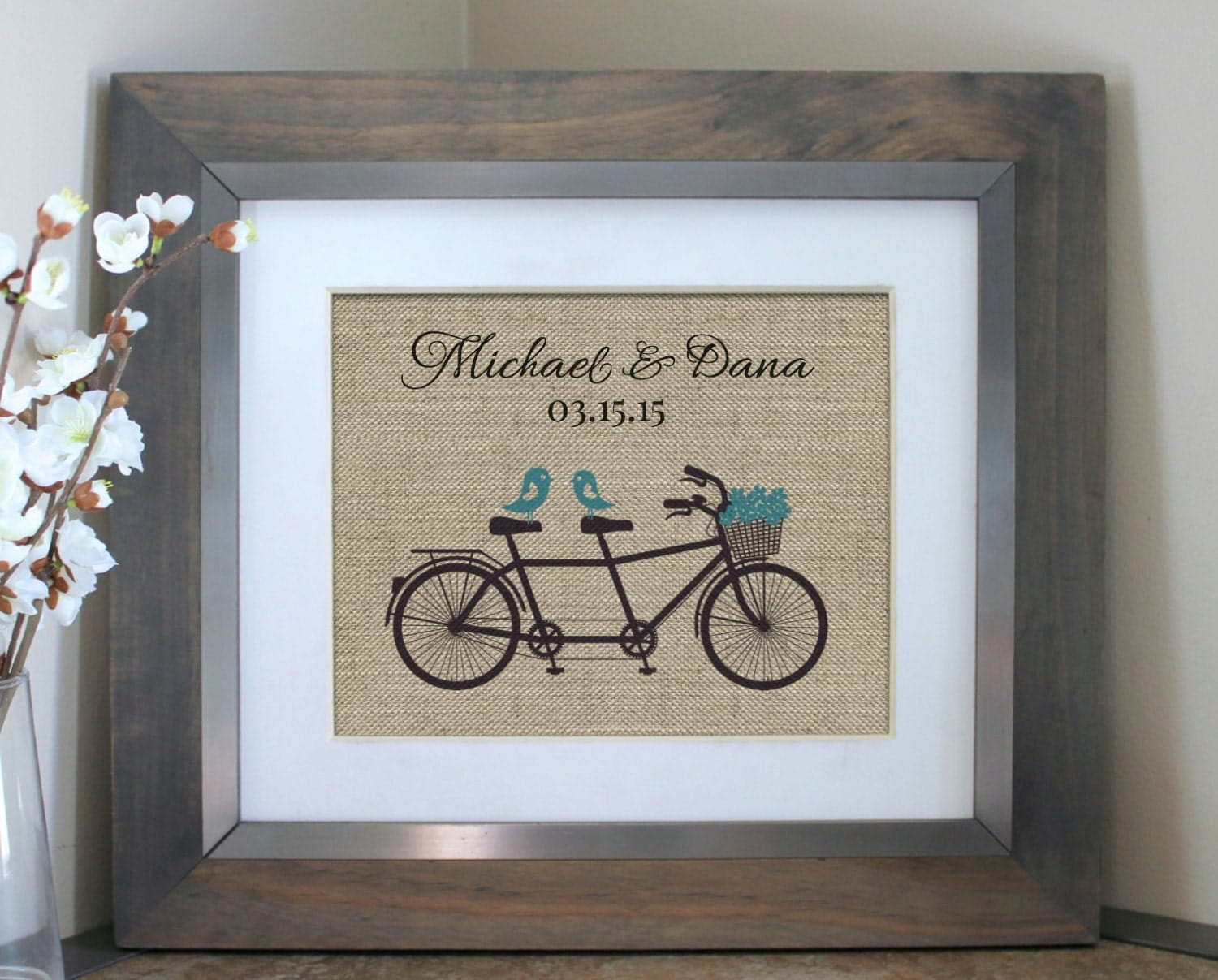 Retro Wedding Gifts: Unique Wedding Gift Engagement Gift Wall Art Vintage