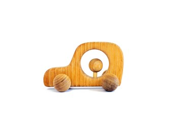 Gift for boy, Push Toy, Wooden Car, Natural Toy, Wooden Toy, Organic, Wooden Toddler Gift, Push Toy, Toddler Boy gift, Kids gift, Christmas