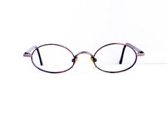 Giorgio Armani Eyeglasses Frames // Unisex 1990's //Tortoiseshell with Gunmetal detail Frames //Made in Italy//1021// #M186 DIVINE