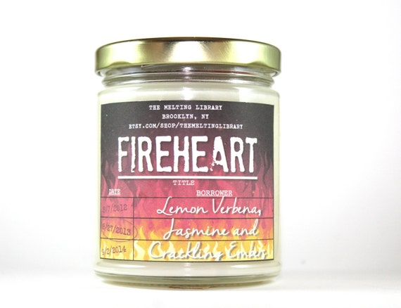 Fireheart - By the Wyrd Collection - Throne of Glass Inspired Candles