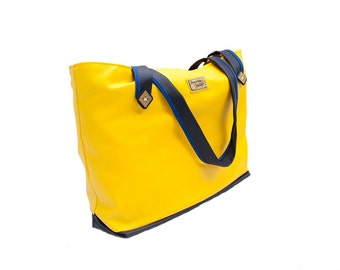 """Large tote bag """"Sunny"""" - everyday tote, custom design available"""