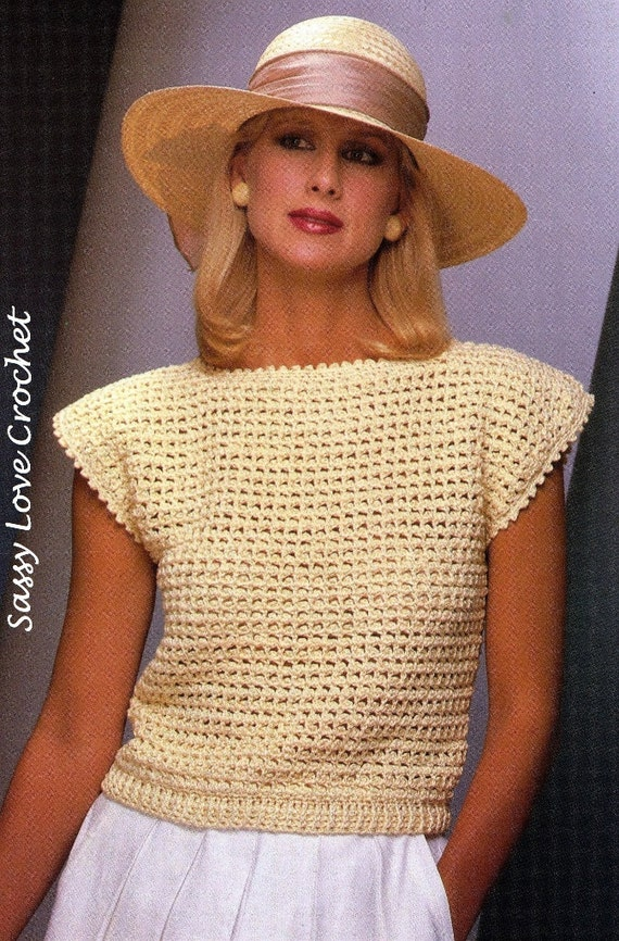 Easy Crochet Sweater Patterns Beginners : Beginners Easy Crochet Sweater Patterns - Bing images