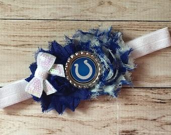 Indianapolis Colts inspired Headband