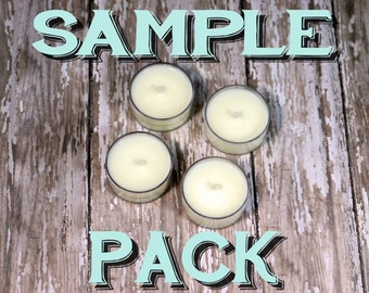 Scented Soy Candle Sample Pack
