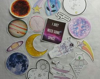 Space Celestial Stickers