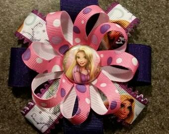 Rapunzel Hair Bow or Headband - 2 sizes available