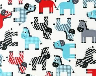 Robert Kaufman Urban Zoo  Celebration Quilters Cotton Fabric BTY