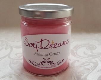 Amazing Grace - Soy Candle 8oz - Size