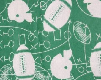 SALE Green Football : Hedgehog Snuggle Sack, Cozy Sack, Hedgie Sack, Small Animal Sleeping Bag