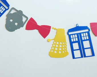 Doctor who garland