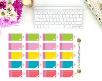Chubby Pencil Planner Stickers