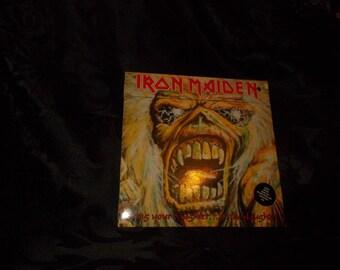 iron maiden 7' inch vinyl