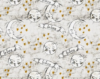 Custom Baby Bedding //Moon Crib Sheet// Baby Bedding//Celestrial Crib Sheet