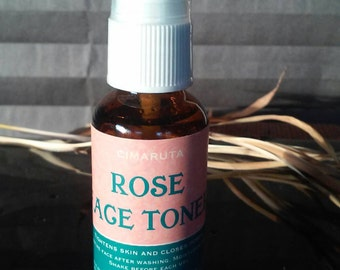 Organic Rose Face Toner 1 oz.