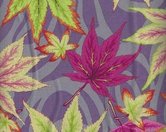 Kaffe Fassett Collective Spring 2016 - MAPLE STREAM MAUVE designed by Philip Jacobs
