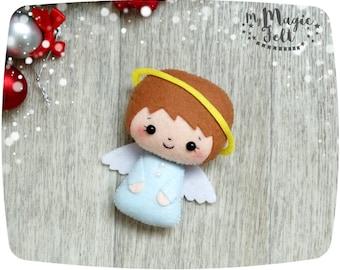 Christmas Ornaments felt Angel Christmas ornament Cute