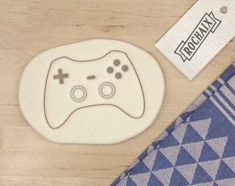 Controller Video Game Cookie Cutter - Geek Cookie Cutter Videogame Gamer Fanboy Nerd Birthday Cookie Cutter - 3D Printed