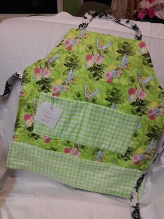 Child Tinkerbell Apron with pockets