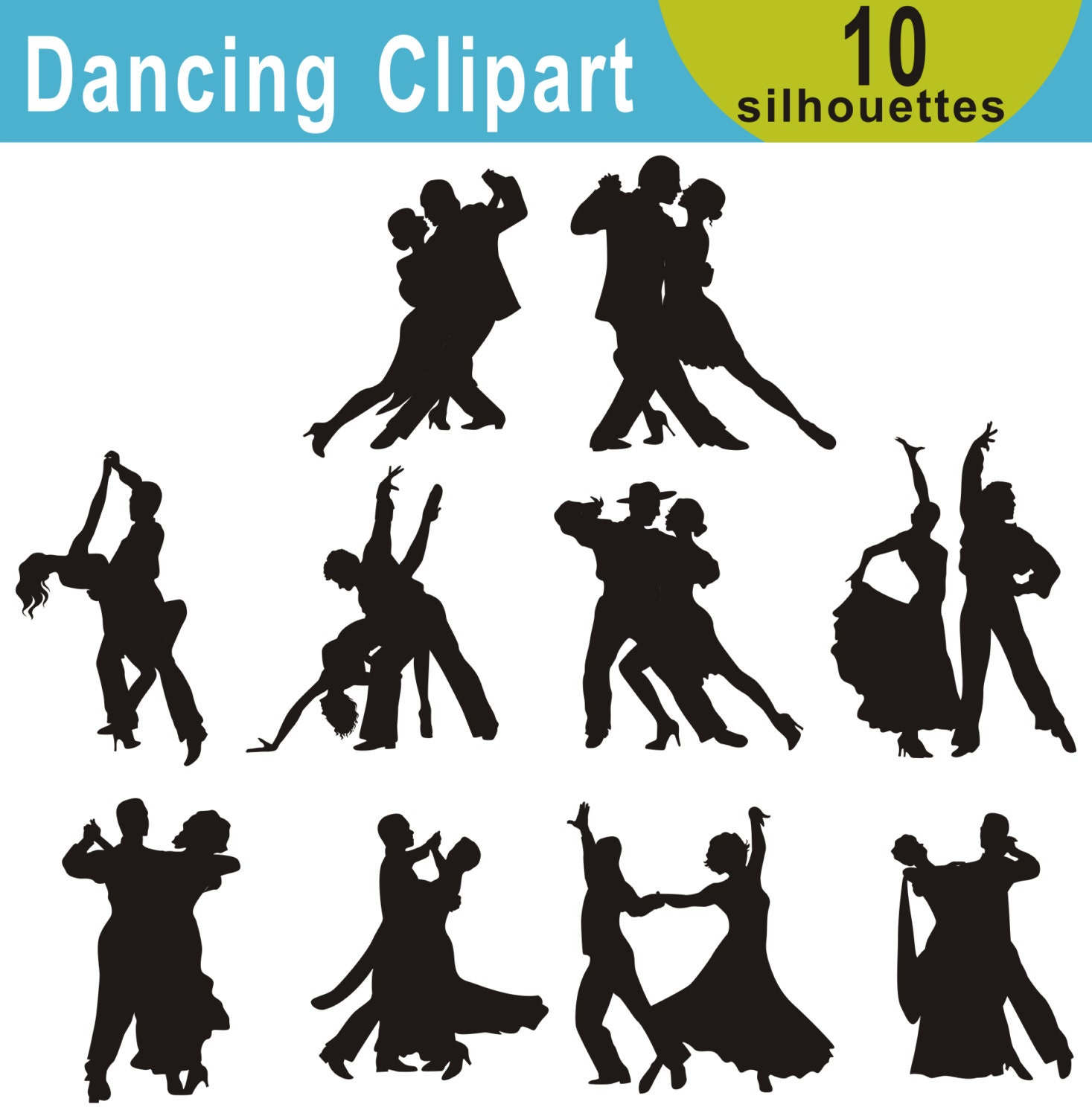Download Flapper Dance Clipart | Charleston Party in 2019 ...