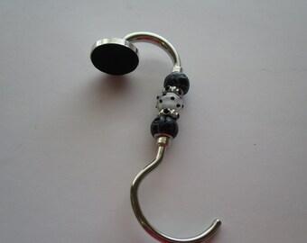 Purse hook – purse hanger – bag hook – beaded purse hook – handbag hook – bag hook hanger -purse accessories -purse hook hanger-gift for her