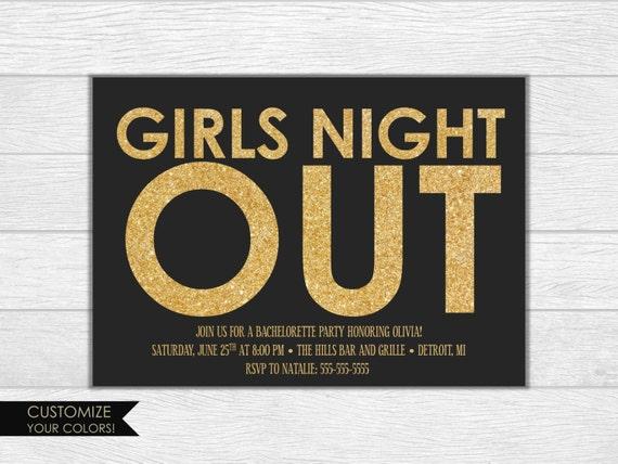 Bachelorette party invite, bachelorette party invitation, bachelorette invitation, girls night invite, printable invitation, wedding invite