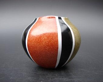 Krösselbach Cläre Zange vase Fifties German ceramics Krosselbach vase