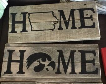 Iowa Home Sign