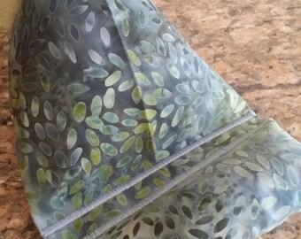 Gadget Bags-Batik Collection (Blue n' Green Leaves)