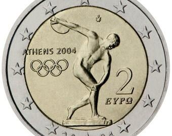 2 EURO coin collectable  - ATHENS 2004