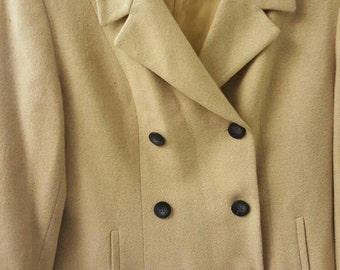 Vintage Pale Yellow Jacket
