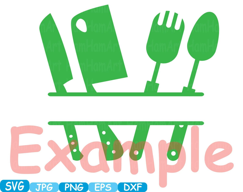 Kitchen svg kitchen utensils clipart restaurant clip art chef - Kitchen Svg File Cutting Files Cricut Cameo Kitchen Utensils Silhouette Svg Cooking Food Stickers Clipart Tools Clip Art 290s