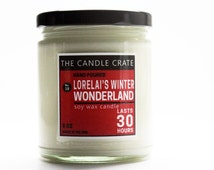 Lorelai's Winter Wonderland- Gilmore Girls- Scented Soy Wax Candle