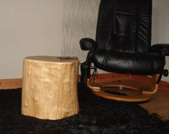 Tree trunk stools