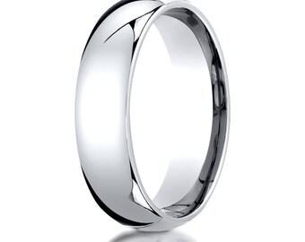 Platinum Comfort Fit Wedding Ring 6mm, Platinum Wedding Band, Platinum Ring, 6mm Platinum