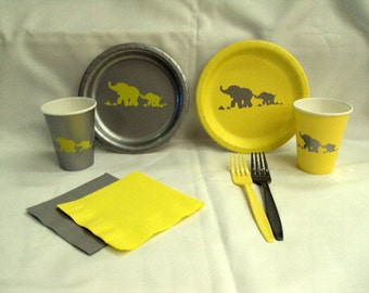 Elephant Tableware Set for 10 people