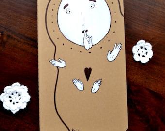 Secret Keeper - Hand Drawn Journal