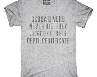 Funny Scuba Divers T-Shirt, Hoodie, Tank Top, Sleeveless