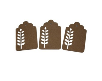Wheat Gift Tags