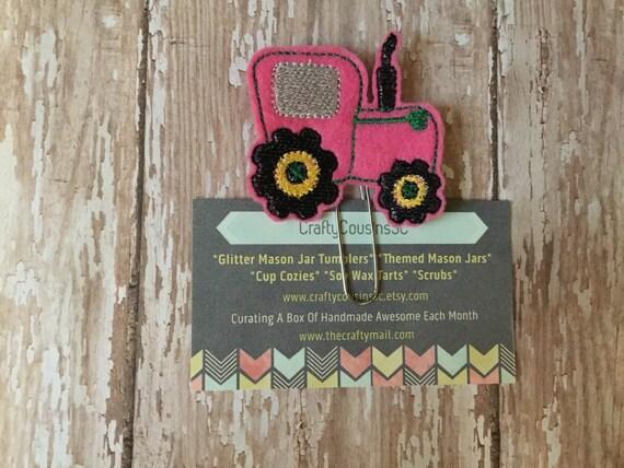 Tractor Paper Clip
