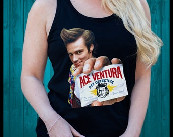 Ace Ventura Pet Detective Mens Womens T Shirt Singlet Fresh Swag Dope Trill