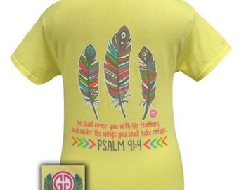 Feathers Psalm 91:4