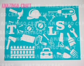 Tools Stencil