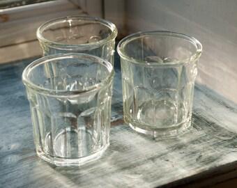 Three Vintage French Preserve/ Jam Jars