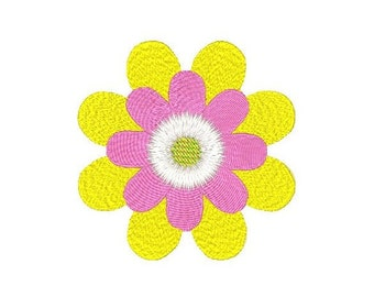 Floral Embroidery Design, Flower Machine Embroidery Design No: JG00032-3