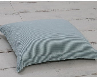 Green Queen Duvet Cover Ticking Stripe Duvet By