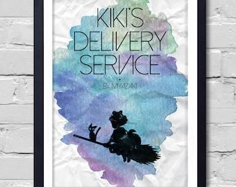 Kiki's Delivery Service. Poster