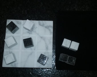 Recycled Granite Tic Tac Toe